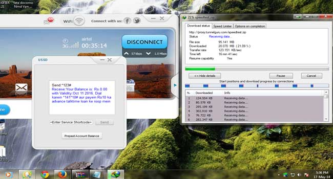 airtel free Internet tcp trick